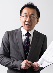 上級講座クラス担任 平川 高志